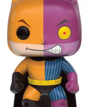 DC Comics POP! Heroes Vinyl Figure Batman as Two-Face Impopster 9 cm