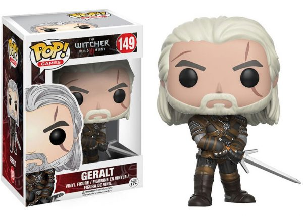 The Witcher POP! figura – Geralt