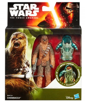 Star Wars Episode VII Armor Up Akció figura - Chewbacca