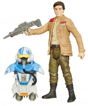 Star Wars Episode VII Armor Up Akció figura - Poe Dameron