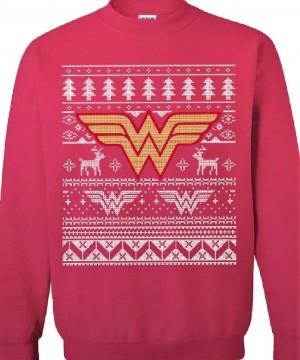 DC Comics karácsonyi pulóver - Wonder Woman