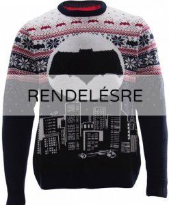 DC Comics karácsonyi kötött pulóver - Batman