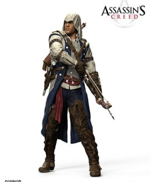 Assassin's Creed III Color Tops Action Figure Connor 18 cm