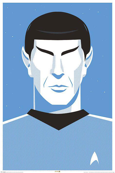 Star Trek 50th Anniversary Poster Pack Pop Spock 61 x 91 cm