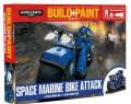 Warhammer 40k Model set – Space Marine Bike Attack