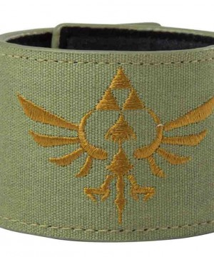 The Legend of Zelda Wristband Gold Logo
