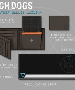 Watch Dogs Wallet Tri-Fold Connor