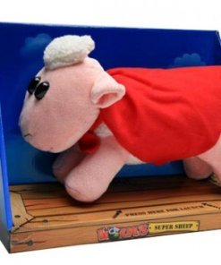 Worms Plush Figure with sound Super Sheep 29 cm