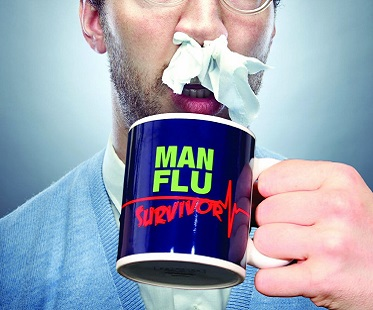 Man Flu Survivor bögre