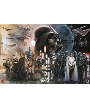 Star Wars Rogue One Poster Pack Rebels vs Empire 61 x 91