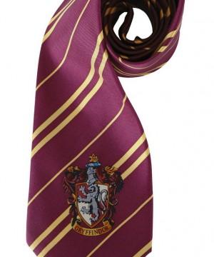 Harry Potter - Griffendél címeres nyakkendő