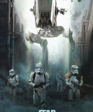 Star Wars Rogue One - Stormtrooper Patrol poszter