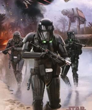 Star Wars Rogue One - Death Trooper Beach Poszter