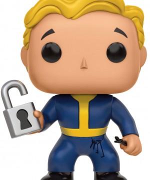 Fallout POP! Games Vinyl Figure Vault Boy Locksmith 9 cm