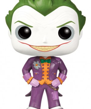 Batman Arkham Asylum POP! Vinyl Figure The Joker 10 cm