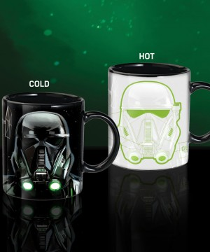 Star Wars Rogue One Heat Change Mug Death Trooper