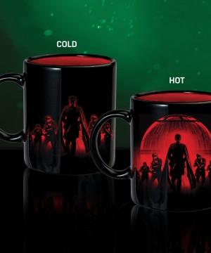 Star Wars Rogue One Heat Change Mug Death Star