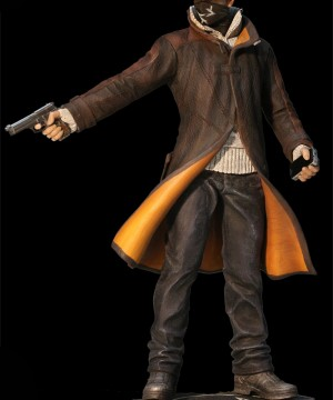 Watch Dogs PVC Statue Aiden Pearce Execution 27 cm