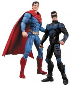 Injustice Action Figure 2-Pack Nightwing vs. Superman 10 cm