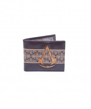 Assassin's Creed Movie - Bifold Wallet with Wooden Crest