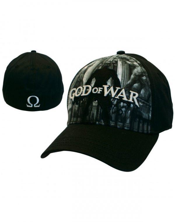 God Of War – Black Flex Front Full Print