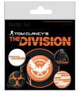 The Division - kitűzők