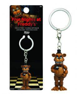Five Nights at Freddy's Vinyl Keychain Freddy 7 cm