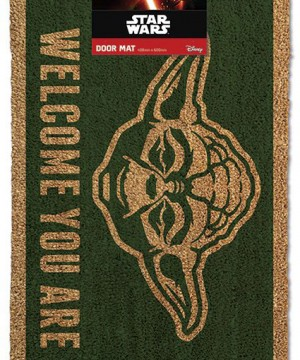 Star Wars Doormat Yoda 40 x 60 cm