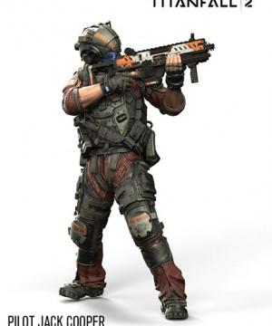 Titanfall 2 Color Tops Actionfigur Pilot Jack Cooper 18 cm