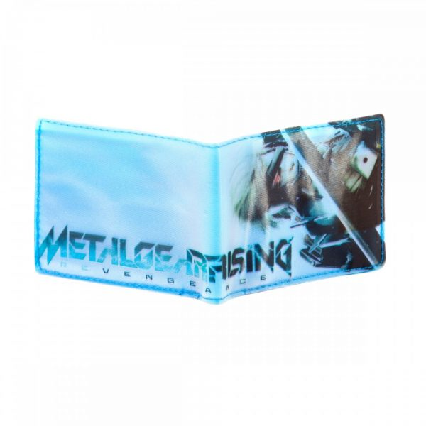 Metal Gear Rising Wallet Bifold Raiden