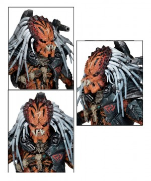 Predator Deluxe Action Figure Clan Leader 20 cm