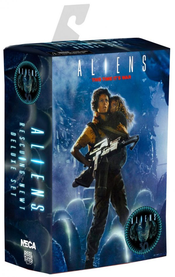 Aliens Action Figure Deluxe 2-Pack 30th Anniversary Ripley & Newt 18 cm