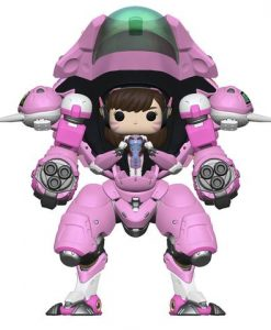 Overwatch Funko POP! Figura - D. Va E and Buddy