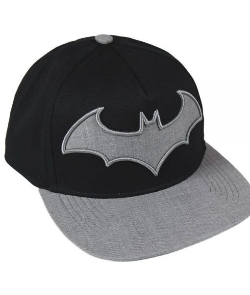 DC Comics Premium Cap Grey Batman Logo