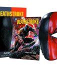 DC Comics Replica Deathstroke Mask & Book Set
