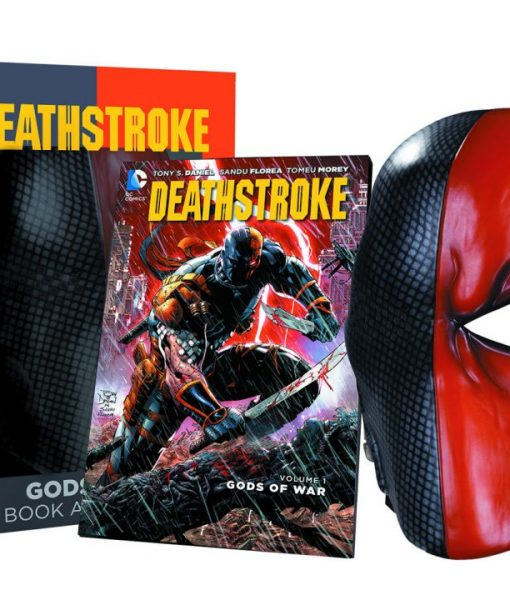 DC Comics Replica Deathstroke Mask & Book Set