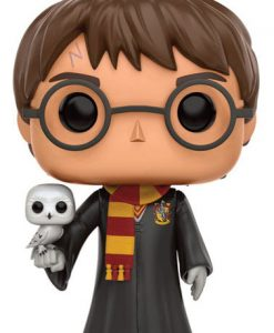 Harry Potter POP! Movies Vinyl Figure Harry with Hedwig 9 cm