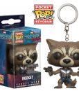 Guardians Of The Galaxy 2 Funko Pocket POP! kulcstartó - Rocket Raccoon