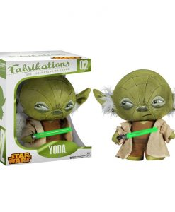 Star Wars Fabrikations Plush Figure Yoda 15 cm