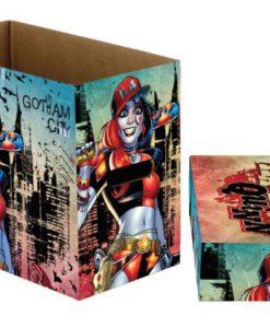 DC Comics - Harley Quinn Gotham képregény tároló doboz