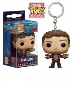Funko Pocket POP! Keychain - Marvel Guardians Of The Galaxy vol. 2 STAR-LORD Vinyl Figure 4cm