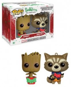 Guardians of the Galaxy Mini Wacky Wobblers Bobble-Head 2-Pack XMAS Groot & Rocket Racoon 9 cm