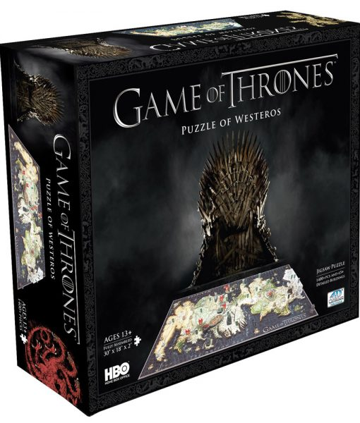 Game of Thrones 3D Westeros