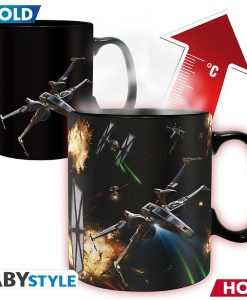 STAR WARS - Mug Heat Change - 460 ml - Space Battle - with box x2