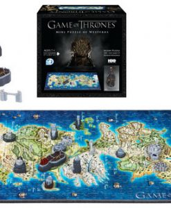 Game of Thrones 3D Puzzle Mini Westeros (340 darabos)
