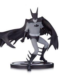 DC Comics - Black & White Batman szobor (Tony Millionaire) (exkluzív)