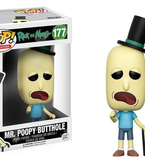Rick and Morty Funko POP! Figura - Mr. Poopy Butthole