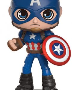 Captain America Civil War Wacky Wobbler Bobble-Head Captain America 16 cm