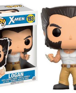 X-Men POP! Marvel Vinyl Bobble-Head Figure Logan Convention Exclusive 9 cm