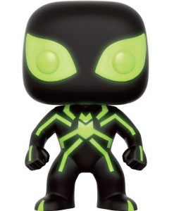 Marvel Comics POP! Marvel Vinyl Figure Spider-Man Stealth Costume GITD 9 cm